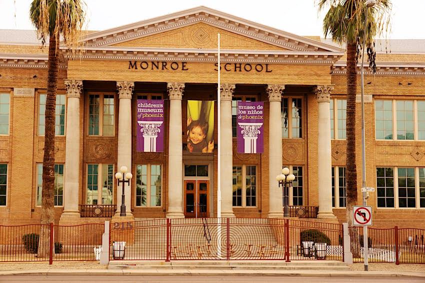 monroe school childrens museum phoenix arizona az learning children's phoenix's children kids hands