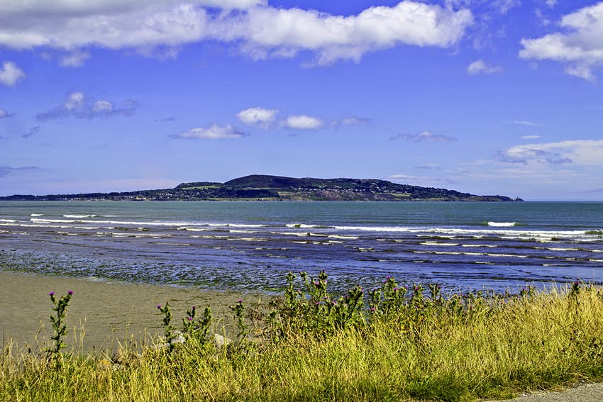 Howth Head viewed from Dollymount Strand