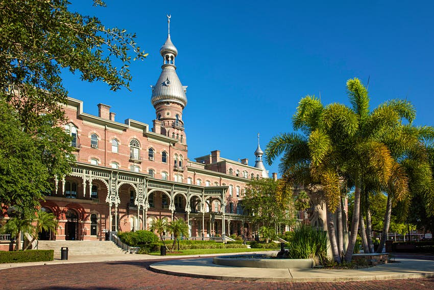 Henry B. Plant Museum - originally, the Tampa Bay Hotel (b. 1891) on the campus of University of Tampa, Tampa, Florida, USA