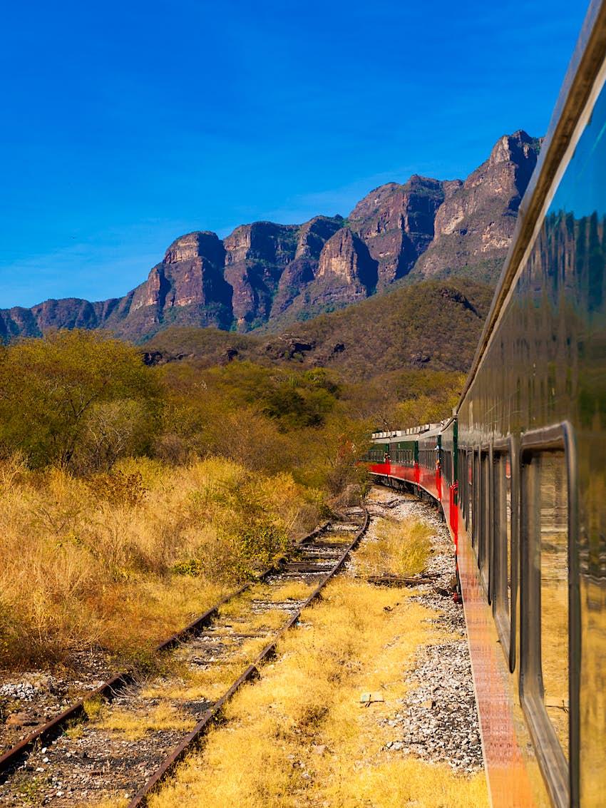Ferrocarril Barrancas del Cobre, México