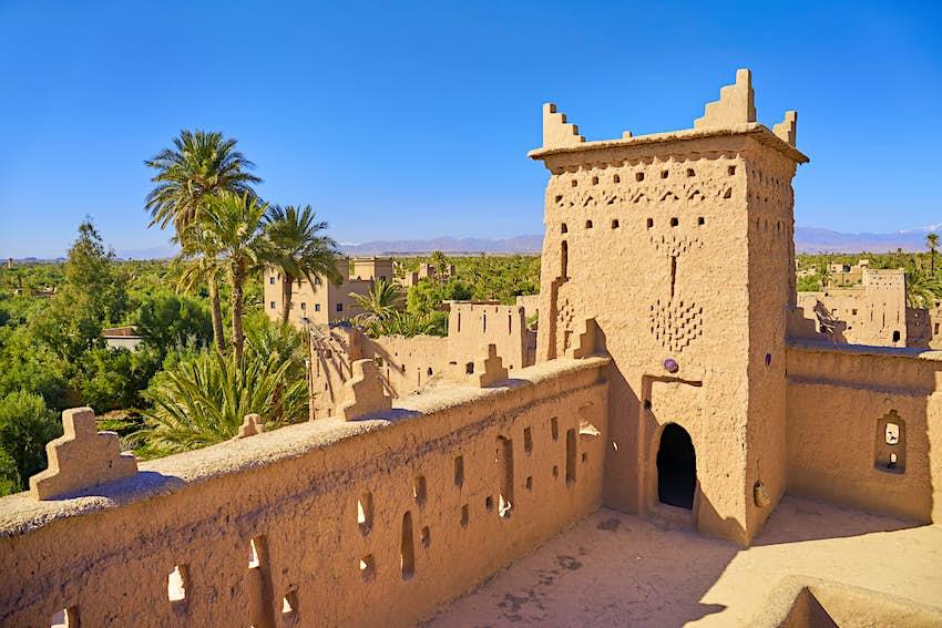 Kasbah Amahidil in Skoura Oasis, Morocco