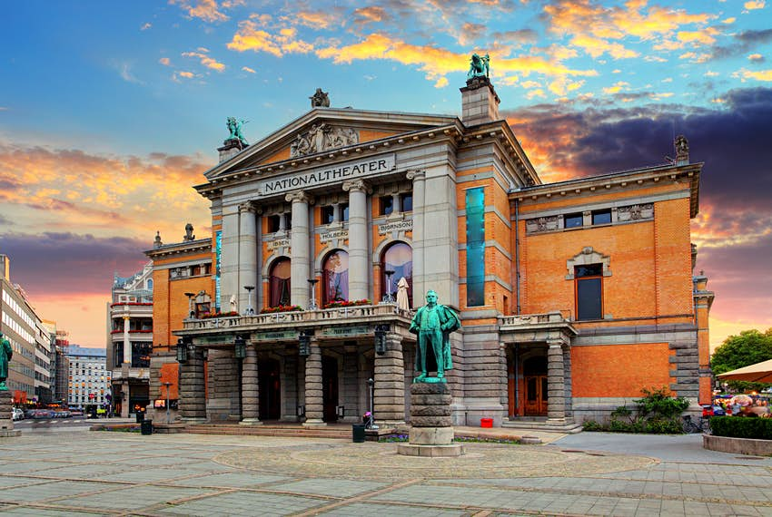 National Theatre in Oslo, Norway