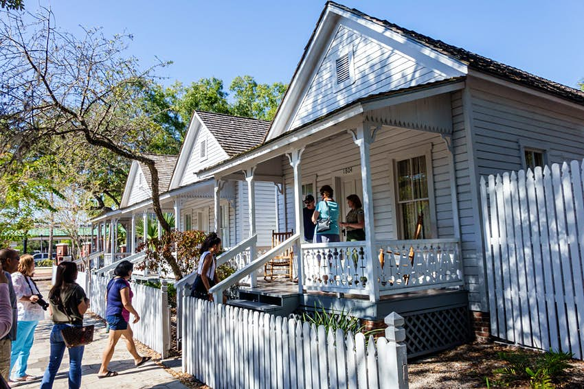 Florida, South, Tampa, Ybor City, historic neighborhood, Ybor City Museum State Park, casita, cigar worker's home, sightseeing visitors travel traveli