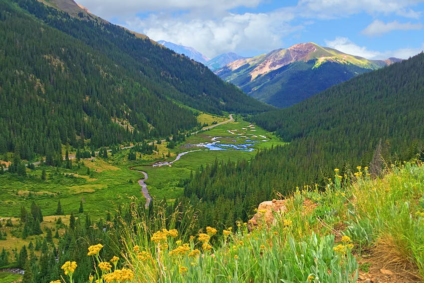 Independence Pass Colorado USA