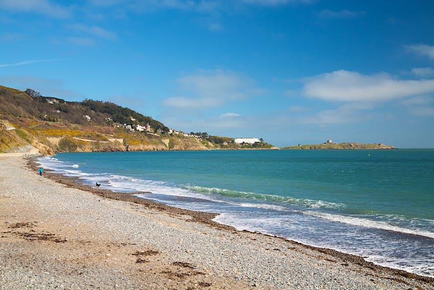 Killiney Beach in Dublin Bay, Ireland