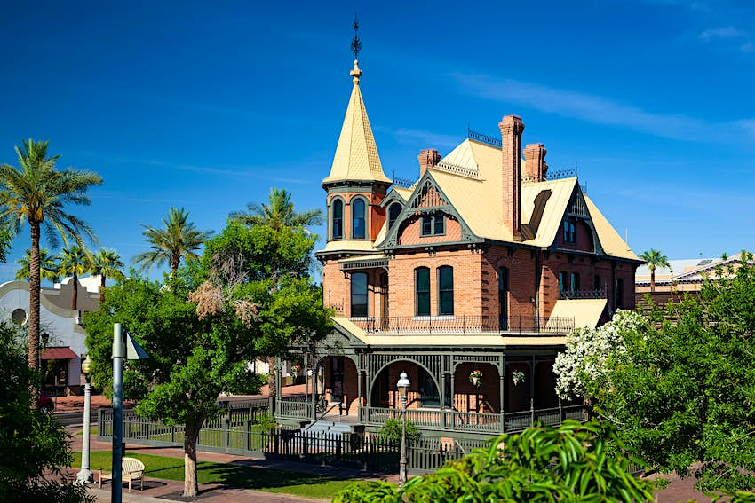 Rosson House (Victorian style) and Museum, Heritage Square Park, Phoenix, Arizona USA