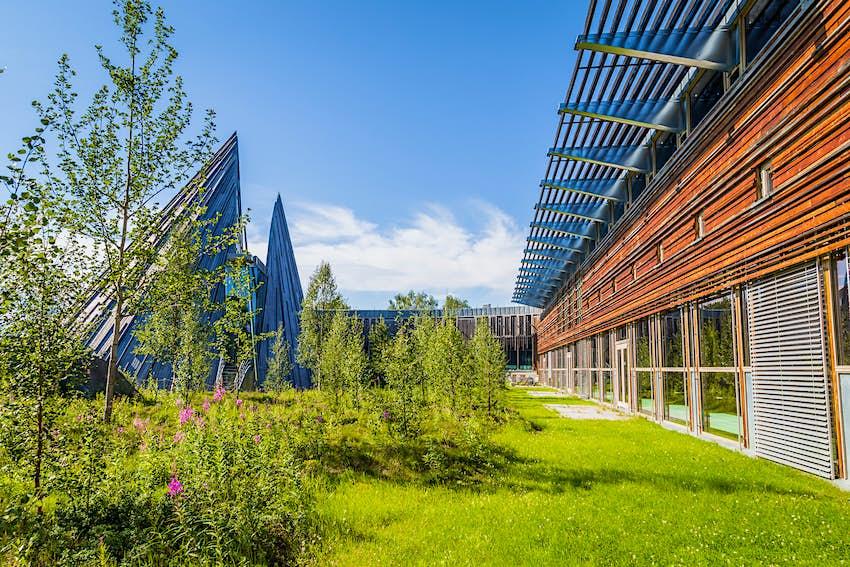 Sami Parliament building in Karasjok, Norway
