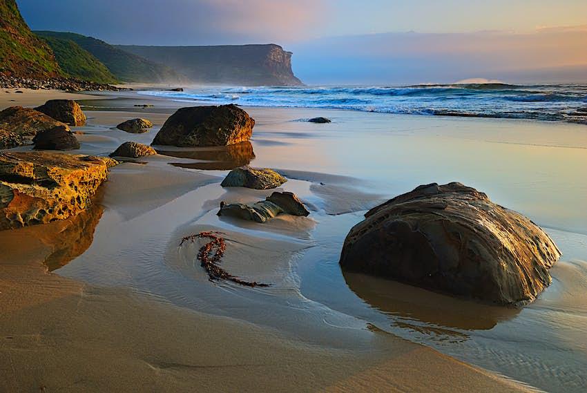 Garie Beach in Royal National Park, Sydney
