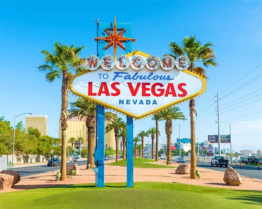 """Welcome To Fabulous Las Vegas"" sign in Las Vegas, Nevada"