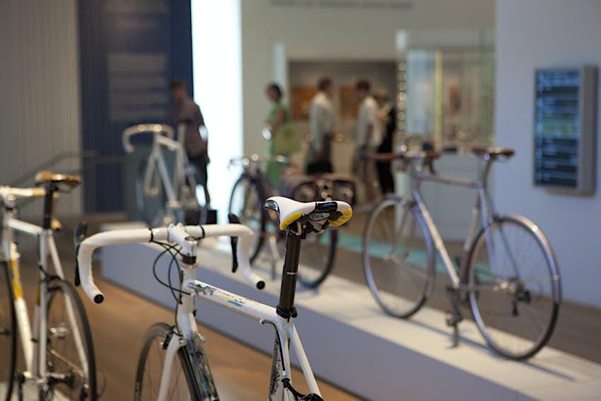 Bicycles in Museum of Arts and Design. ©Dan Herrick/Lonely Planet