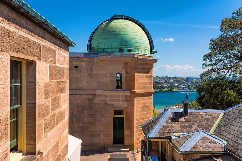 View of the water from Sydney Observatory, Sydney