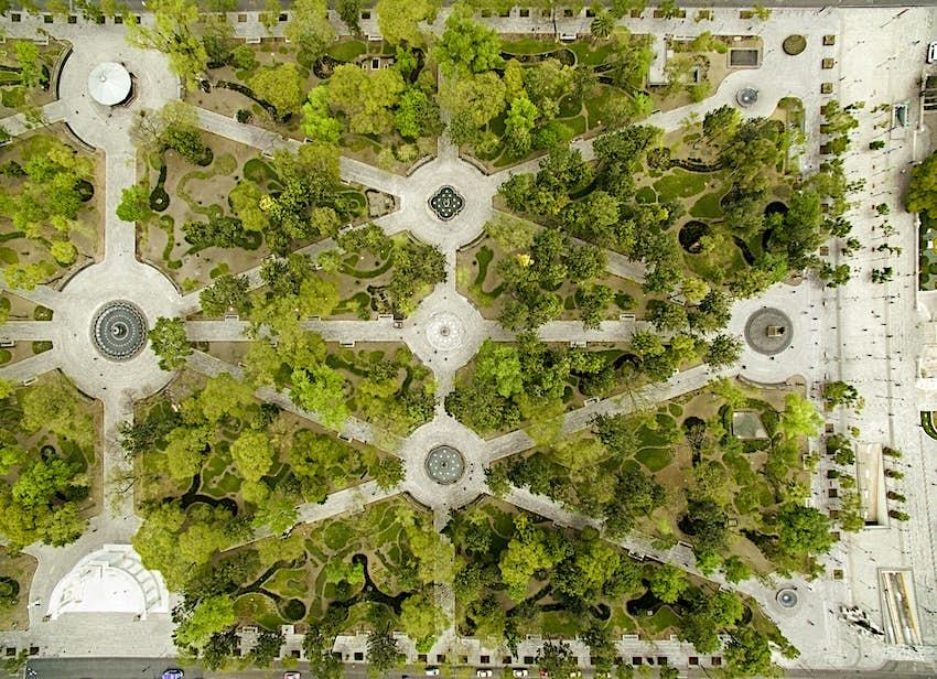 Alameda Central Park, Mexico City
