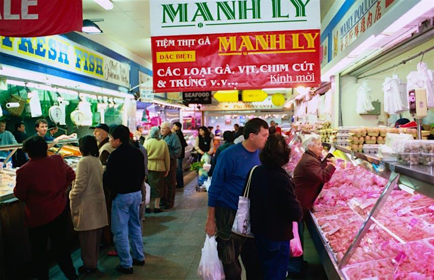 inside Footscray Market in Melbourne's west