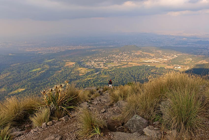 Pico Del Aguila maintain the trip.  Country of Mexico, region of Mexico.