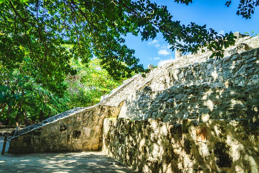 San Miguetito, Mayan Ruin in Cancun, Mexico