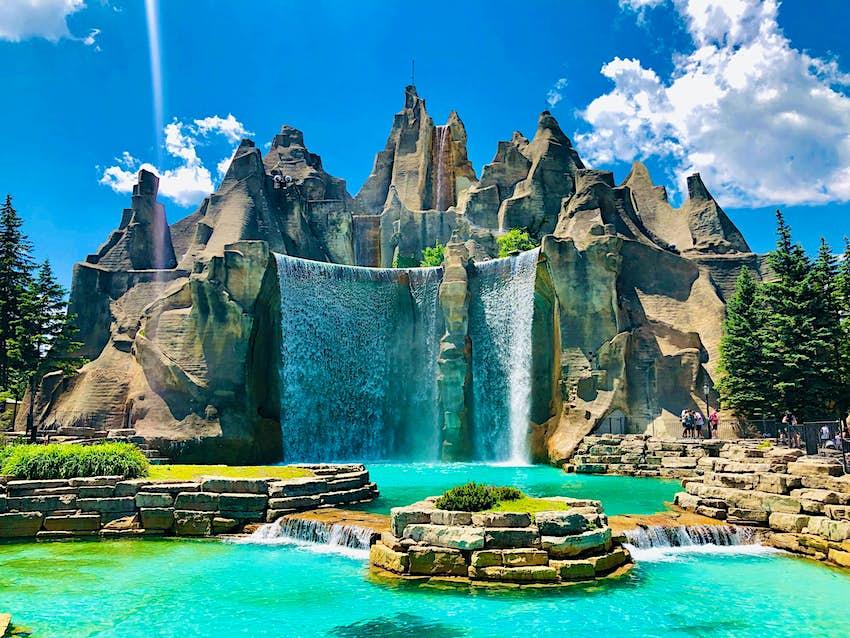 Canada's Wonderland Amusement Park in Toronto