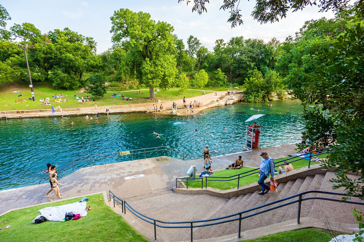 The top 10 city parks in Austin