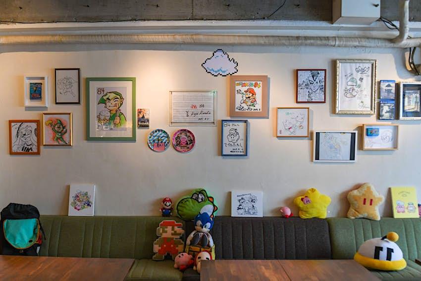 Secret Nintendo Cafe in Tokyo