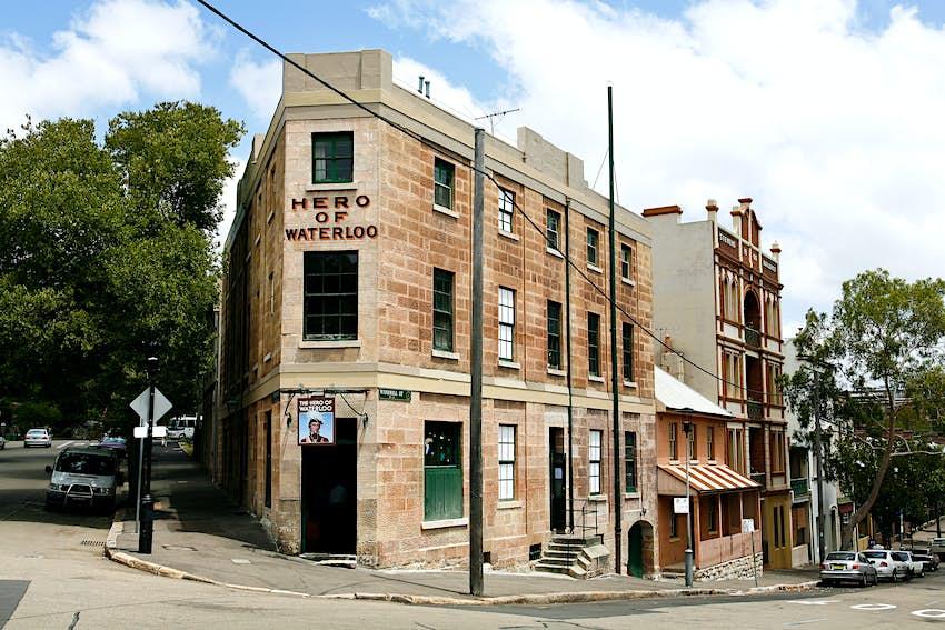 'The Rocks' in Sydney oldest pub