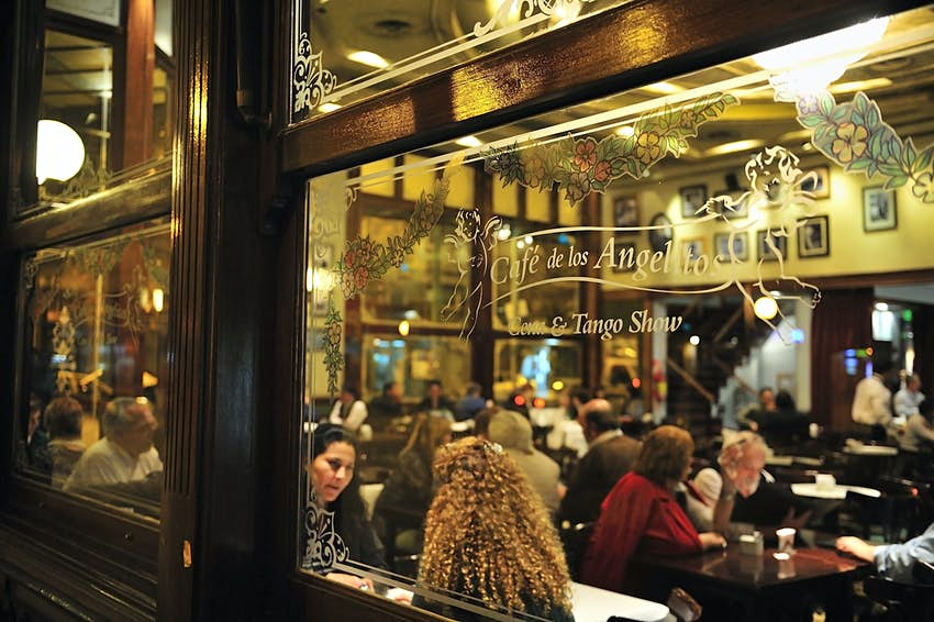 Old Cafe, Buenos Aires, Argentina,