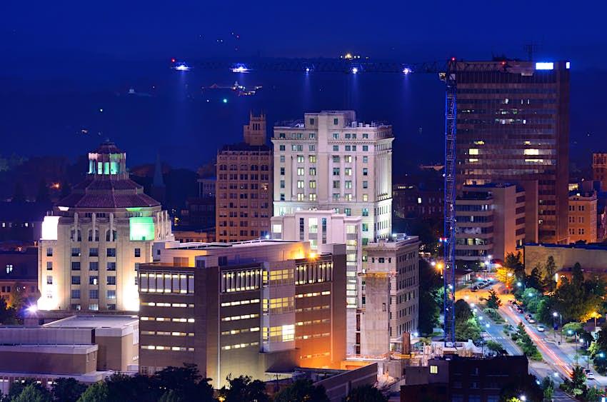 Centre-ville d'Asheville, Caroline du Nord