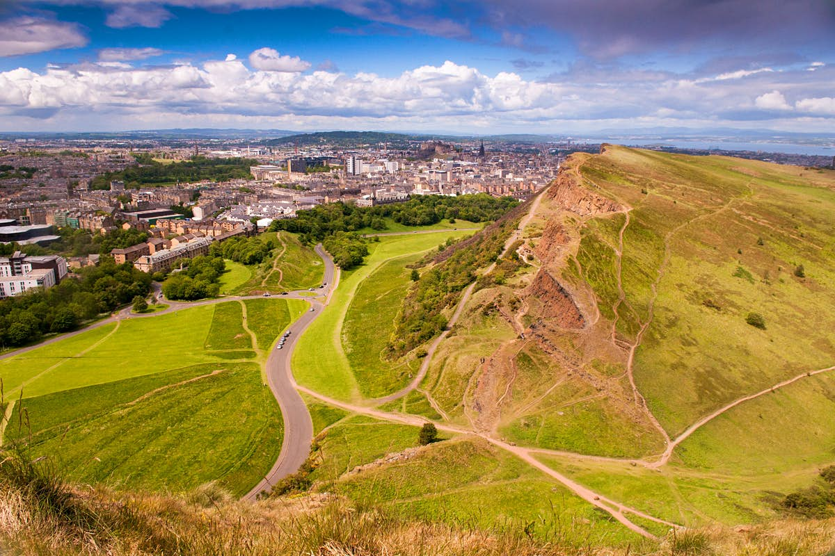 What to see in Edinburgh's best parks and open spaces