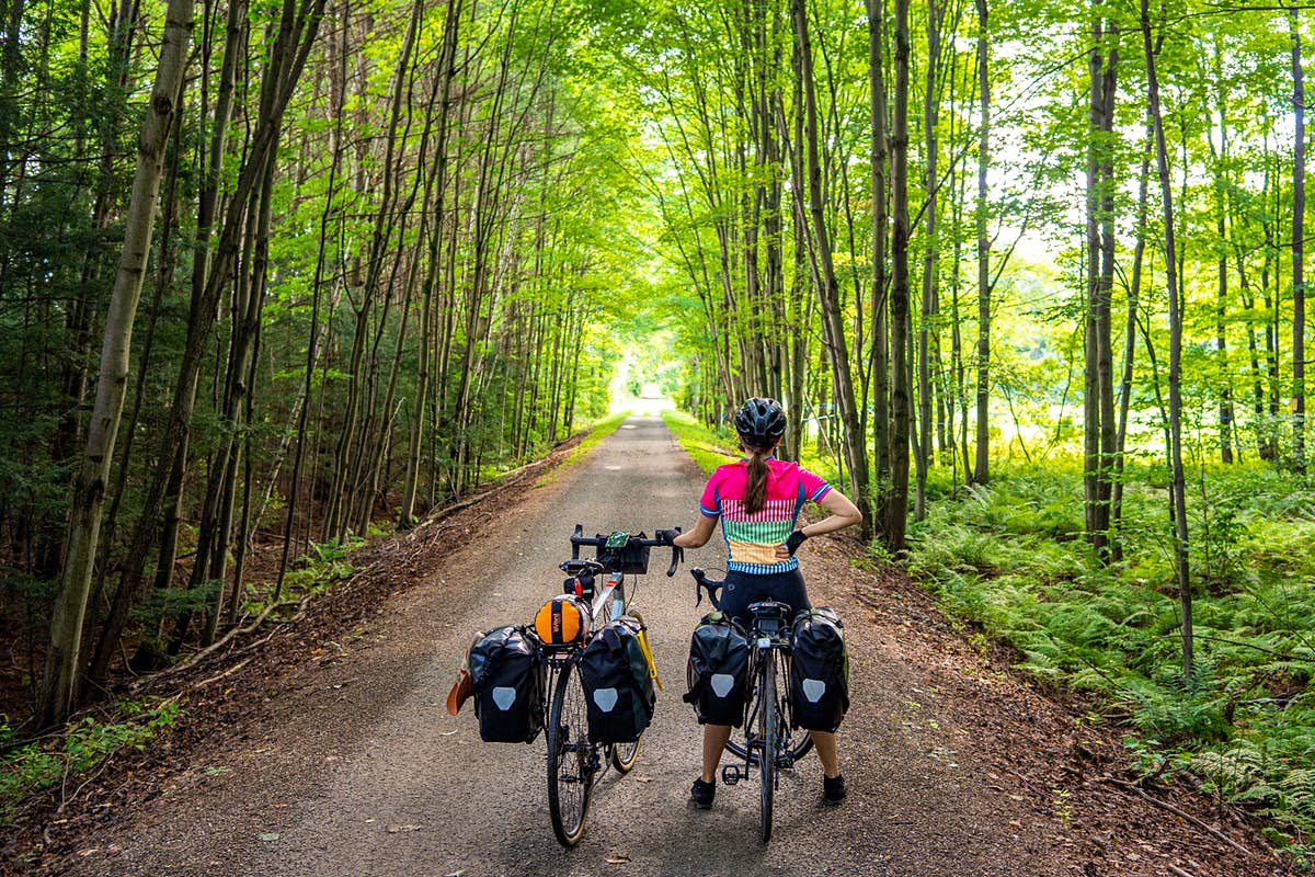 On Québec's Route Verte, not knowing what I was getting myself into was the best part