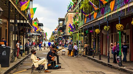 Here and now: New Orleans