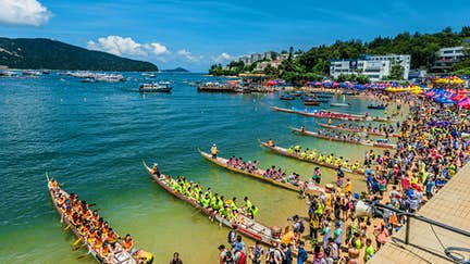 Here and now: Hong Kong Dragon Boat Festival