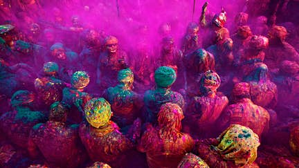 India's colourful Holi festival