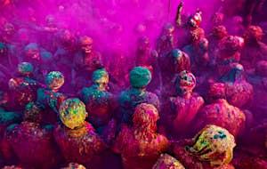 India's colourful Holi festival