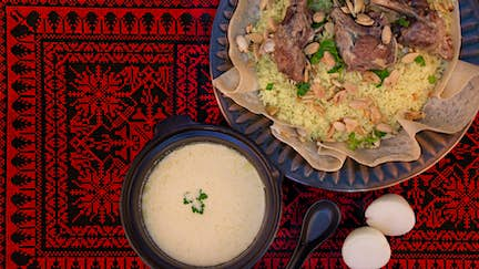 Just back from: learning to cook in Jordan