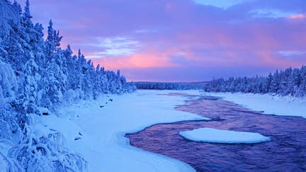 Just back from: Finnish Lapland