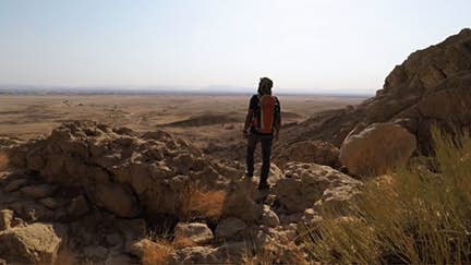 Hike the spectacular Jebel Hafeet