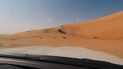 Take a drive across the dunes