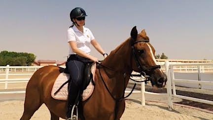 Ride a horse in Al Ain