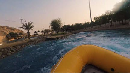 Hit the white water at Wadi Adventure