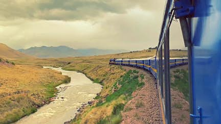 The world's most amazing scenic train journeys