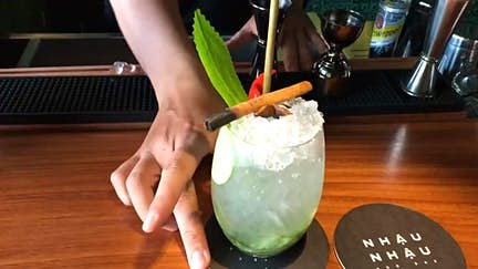 This crazy cocktail is 'pho' real