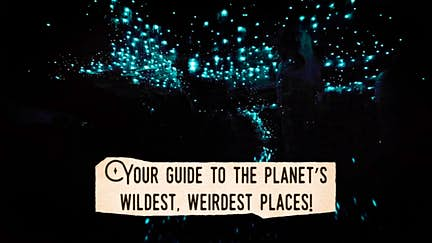 Hidden Wonders: a guide to the planet's wildest, weirdest places