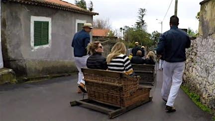 You can ride a Monte toboggan in Madeira