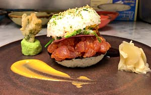 Discover the sushi burger