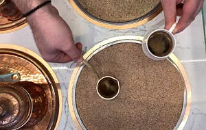 Experience Turkish sand coffee in New York City