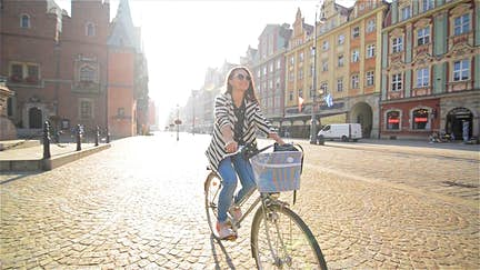 Bike-friendly cities