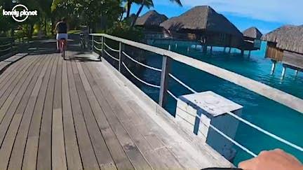 Escape self-isolation with this bike ride in Bora Bora
