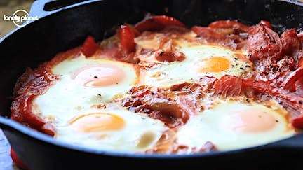 The Travel Kitchen: Israeli Shakshouka