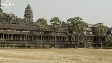 Rare glimpse of iconic Angkor Wat free of tourists