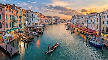 Gondolas are back in Venice