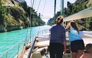 Family ditches house to sail the Mediterranean full-time