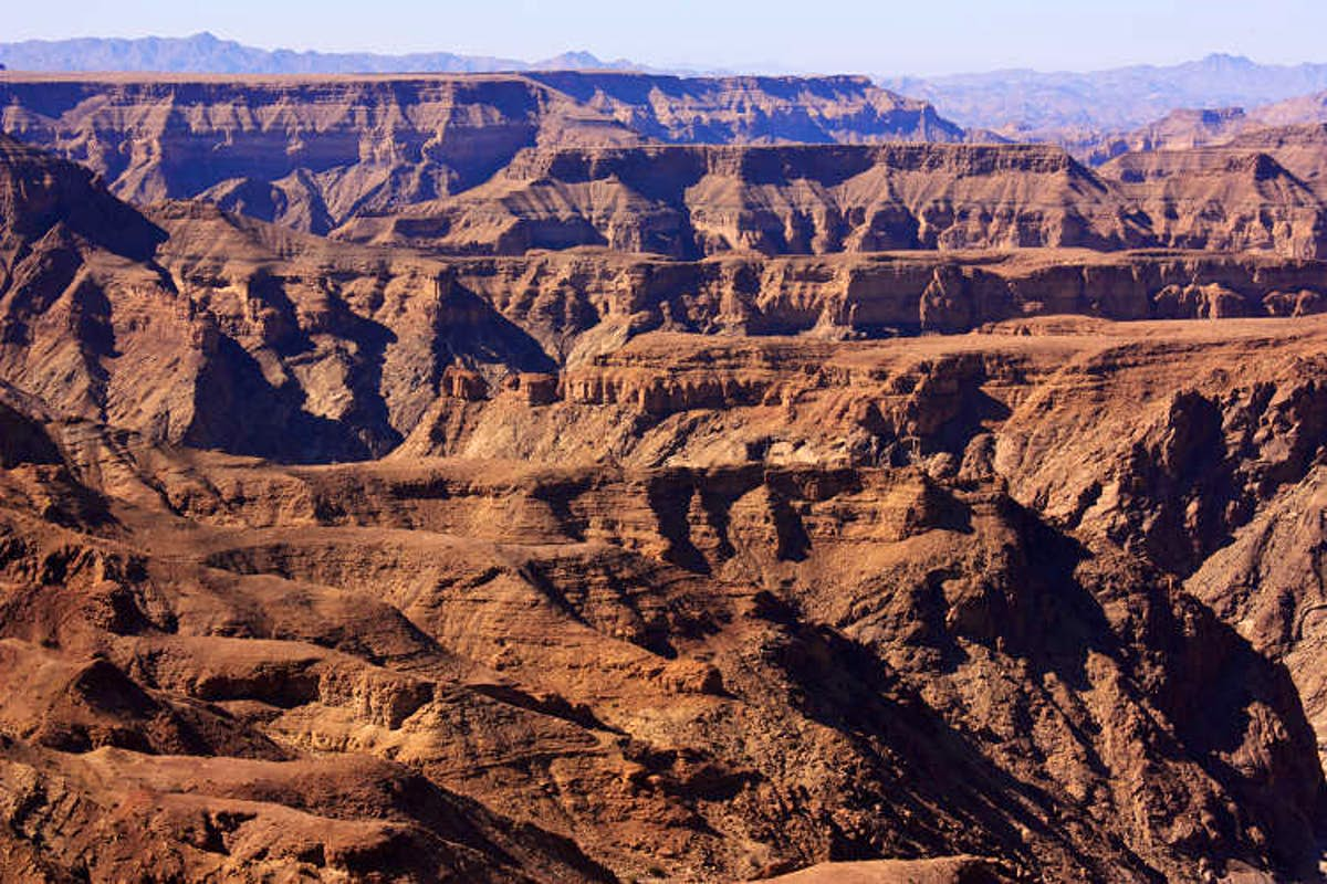 Hiking Fish River Canyon, Namibia. Complete Itinerary